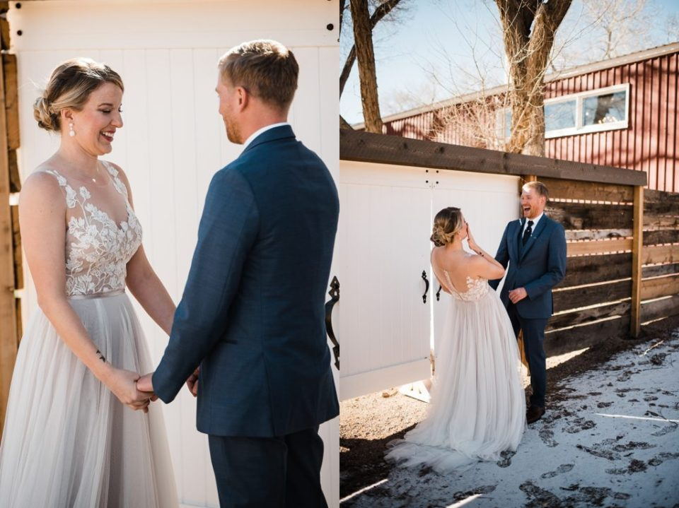 first look at rustic lace barn in colorado springs