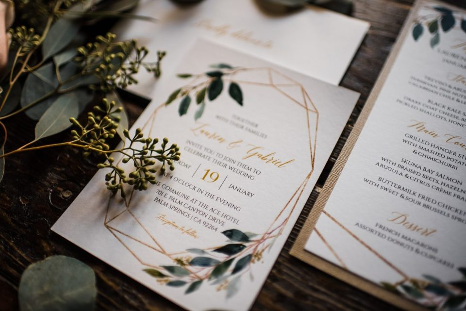 boho invitation suite