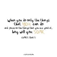 Charis Jones quote
