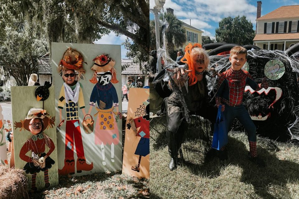 Scarecrow Stroll in Downtown St Marys 2019