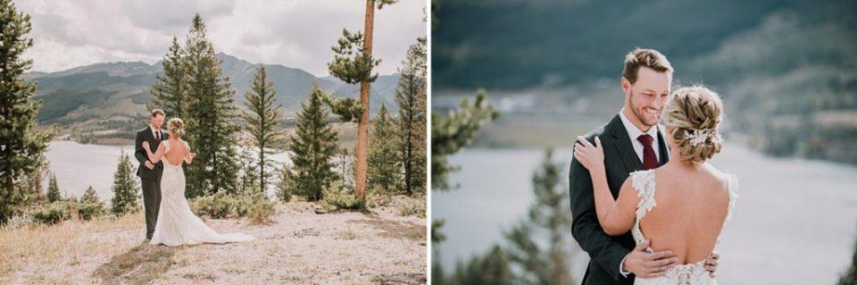 first look near sapphire point in breckenridge colorado