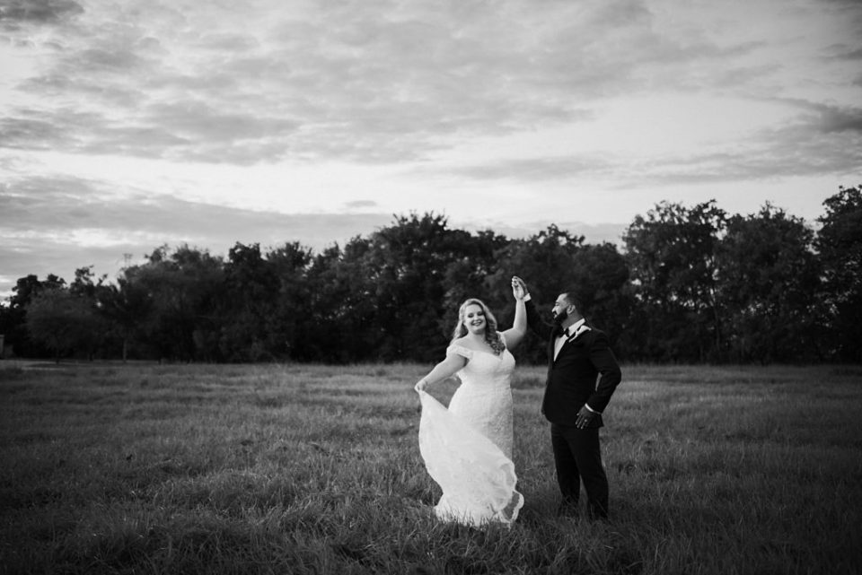wedding photos in empty field across the street from sterling banquet hall #4