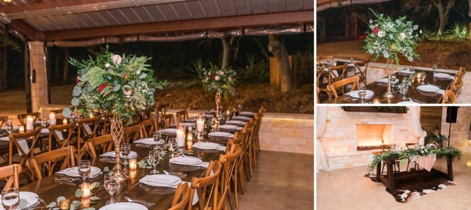 wedding reception at rockin b ranch pipe creek texas