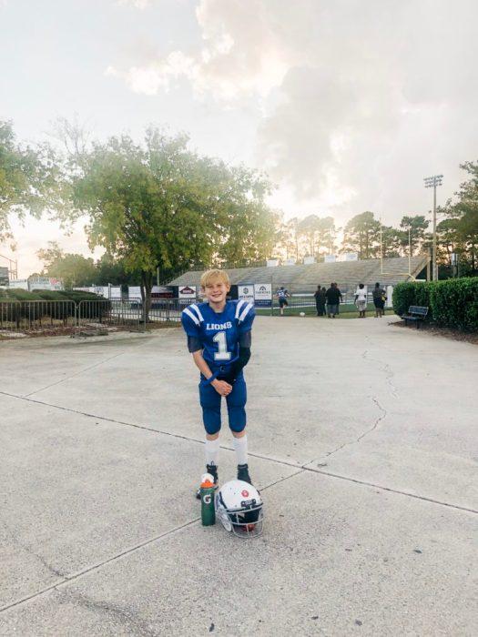 Noah Durham, future CCHS Wildcat football player