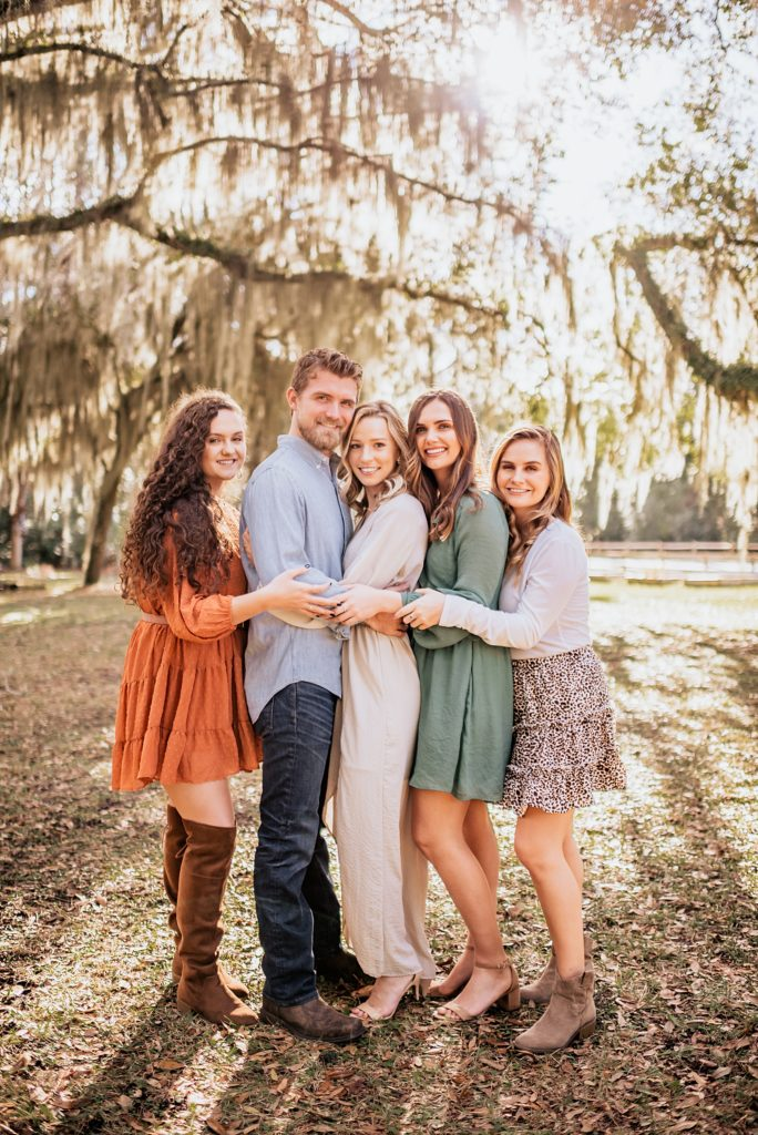family photo session at horton house on jekyll island georgia