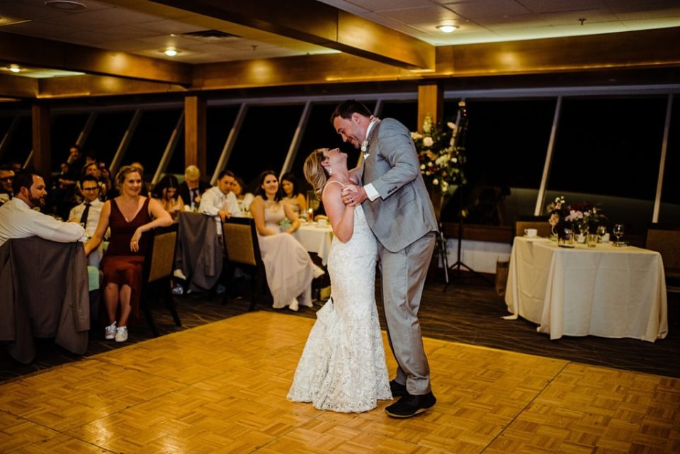 first dance photos at mt vernon country club wedding