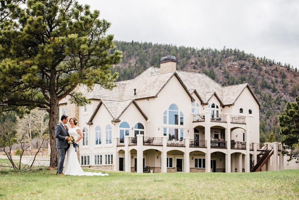estate wedding in colorado springs