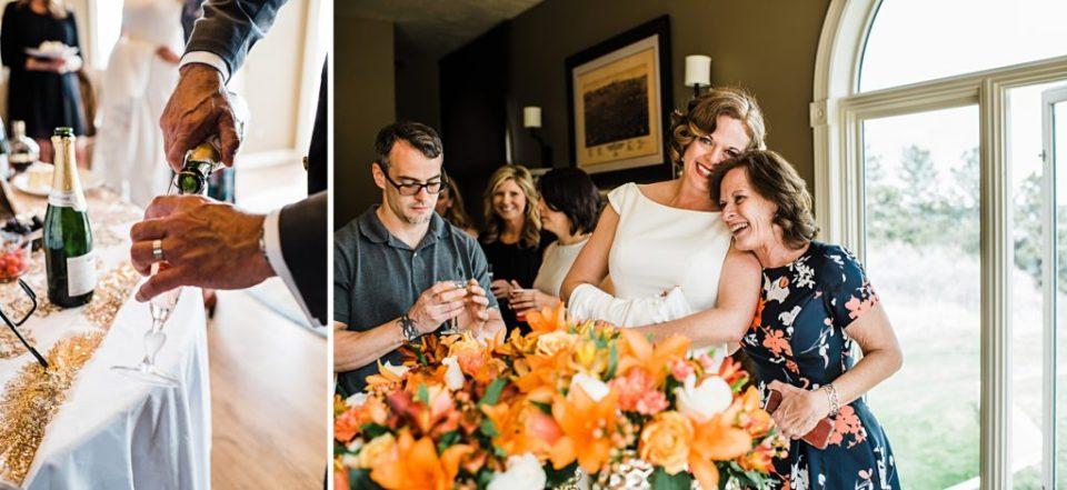 airbnb wedding reception