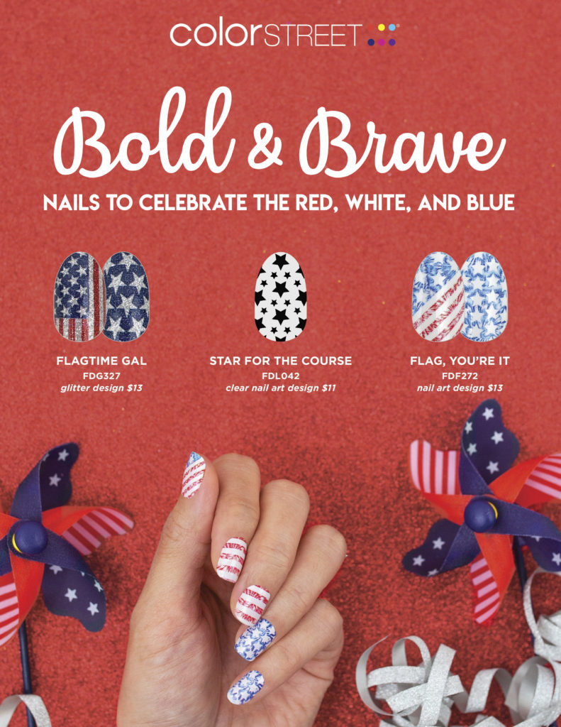 2020 Patriotic Nails Color Street
