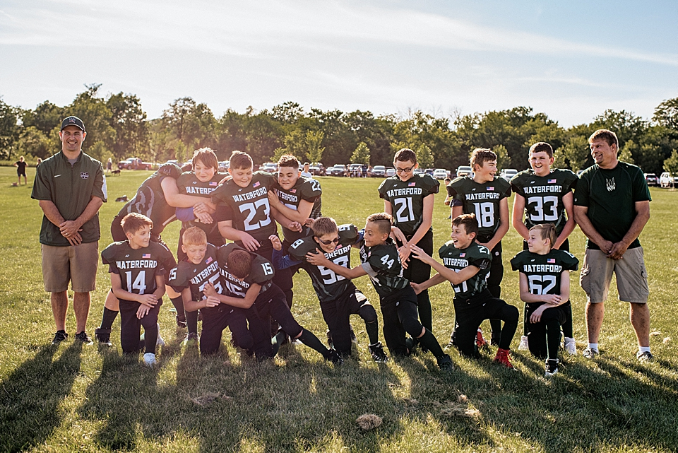 youth football team photos