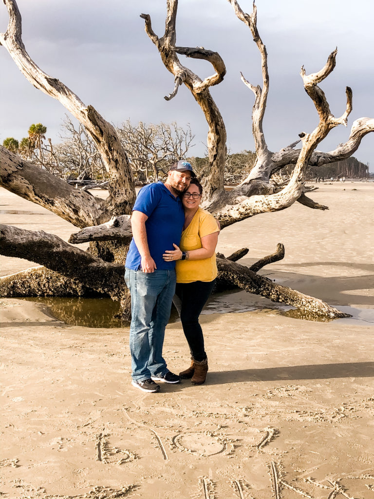 randy and ashley at jekyll island