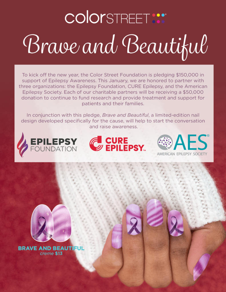 brave and beautiful epilepsy color street