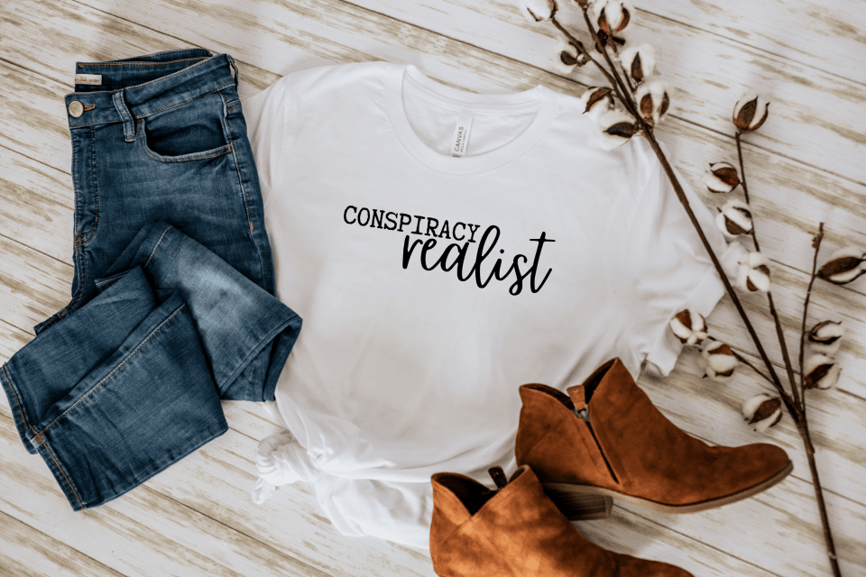 conspiracy realist tshirt farm and country co