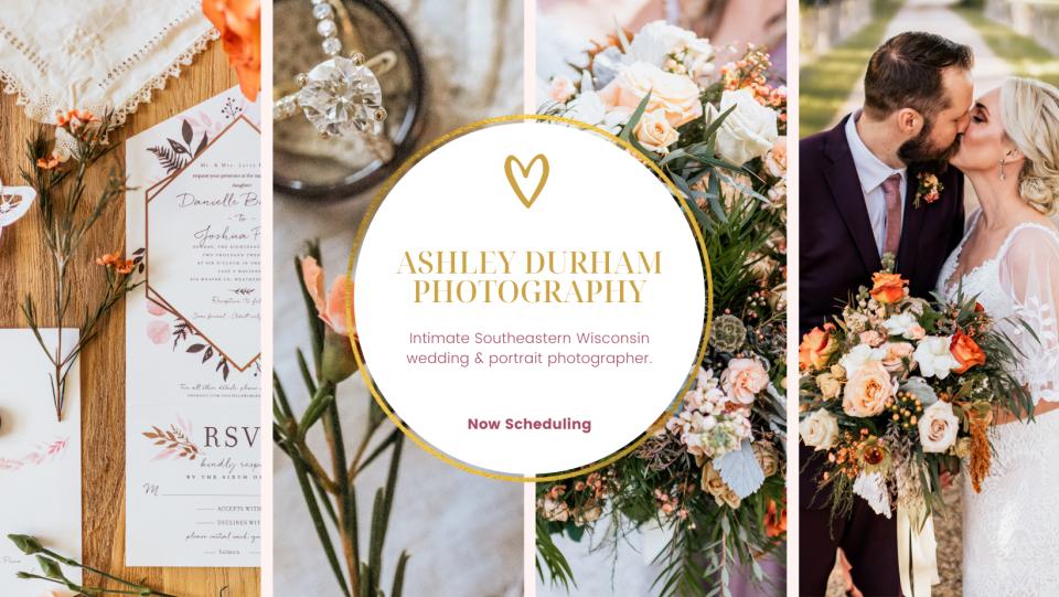 Wisconsin wedding photographer in Burlington