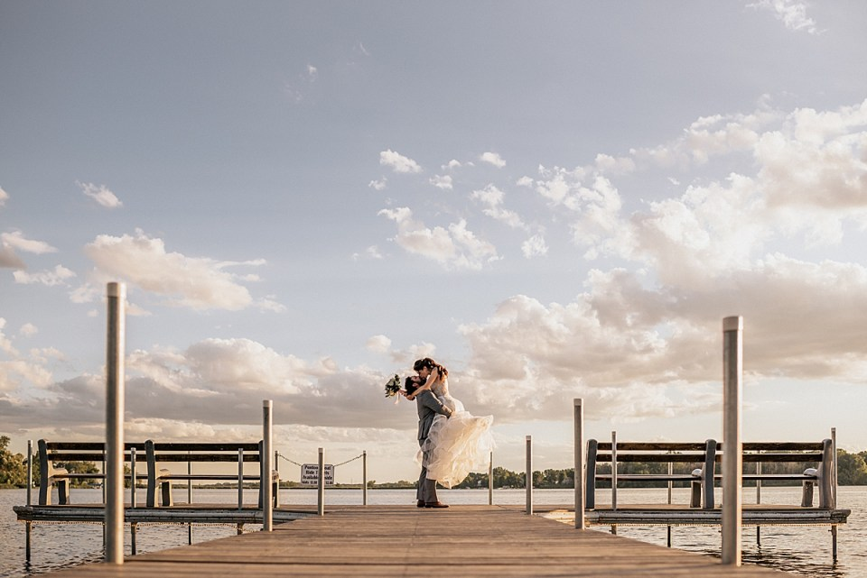 bass bay brewhouse wedding in muskego wisconsin