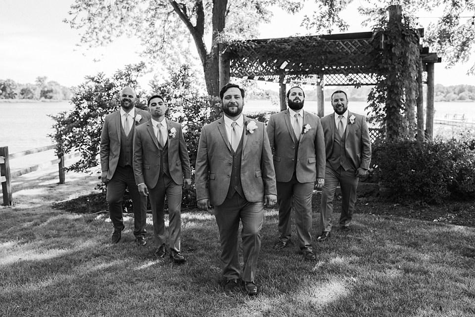 badass groomsmen pose
