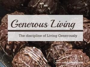 Generous Living Disciple for Success