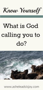 What is God calling you to do? Foundational truths for setting goals for the new year.