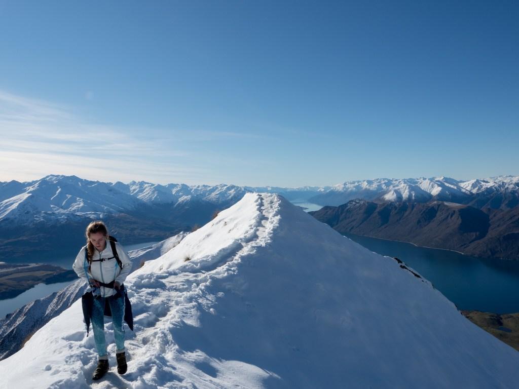 Roy's Peak in snow