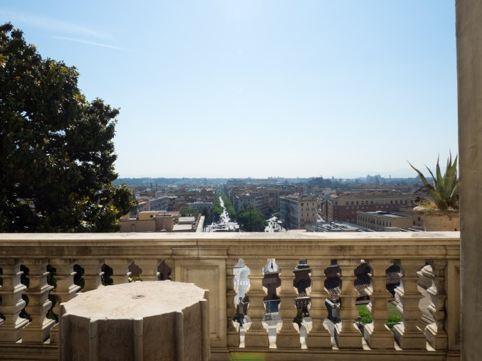 View from one of the Vatican Museums