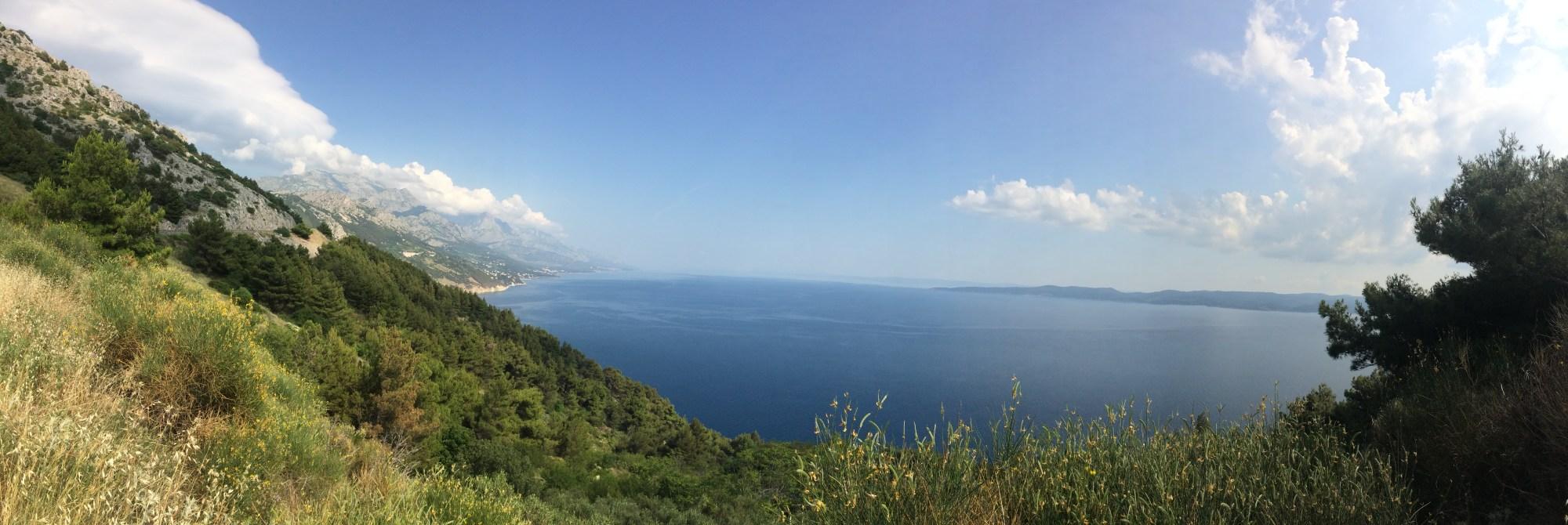Croatian coastal pano