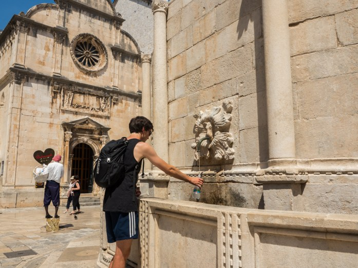 Drinking fountain - Dubrovnik