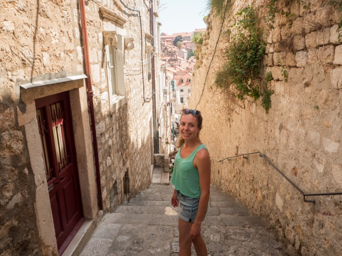 Walking through the streets - Dubrovnik