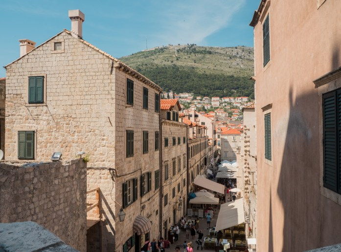 Views through the streets - Dubrovnik