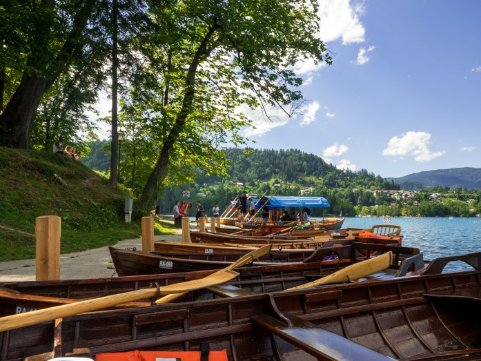 Boats on Bled