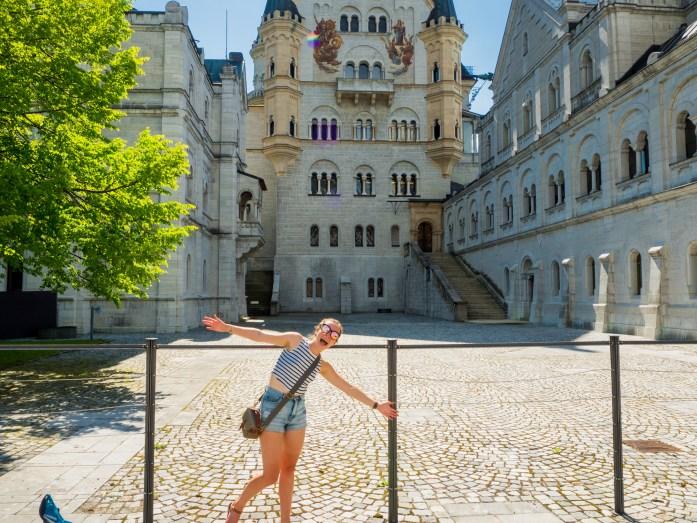 Ash and Neuschwanstein Castle