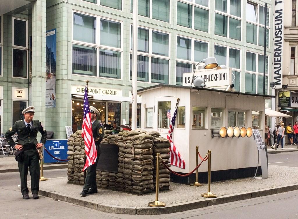 Berlin - Checkpoint Charlie