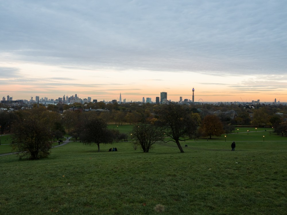 Sunset - Primrose Hill