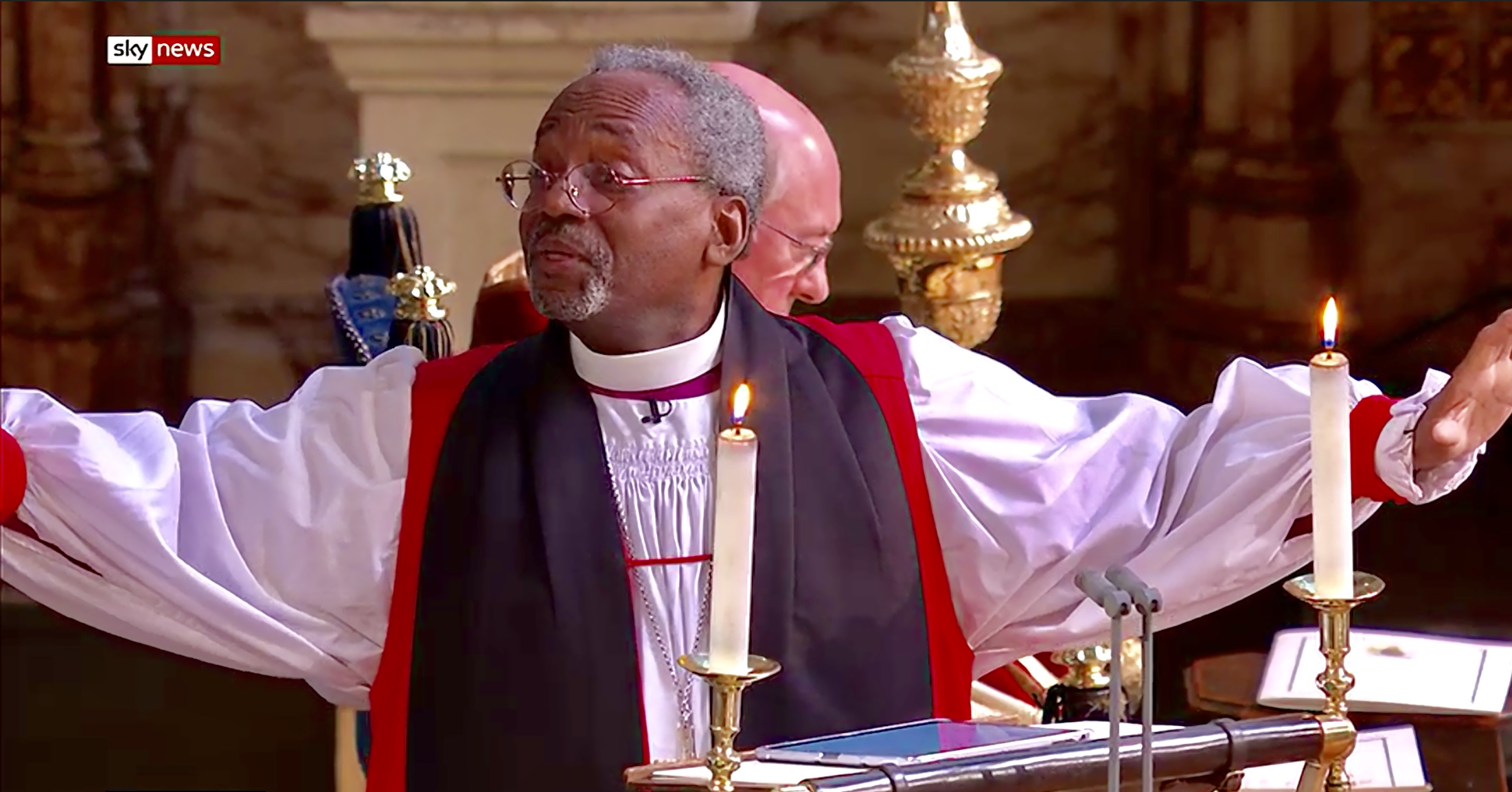Michael Curry Royal Wedding.Michael Curry The Royal Wedding A Star Turn Offers The World