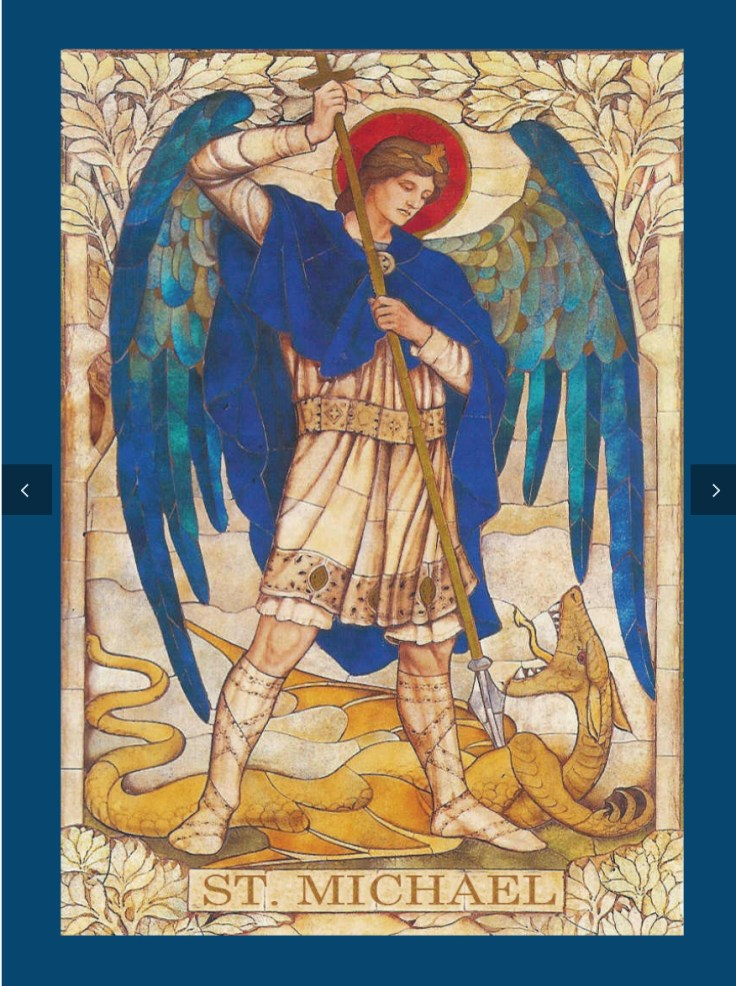 St Michael the archangel.