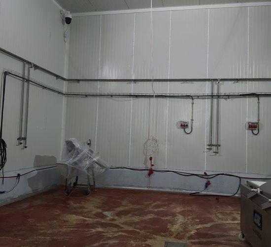 התקנת קוו מים למפעל במרכז