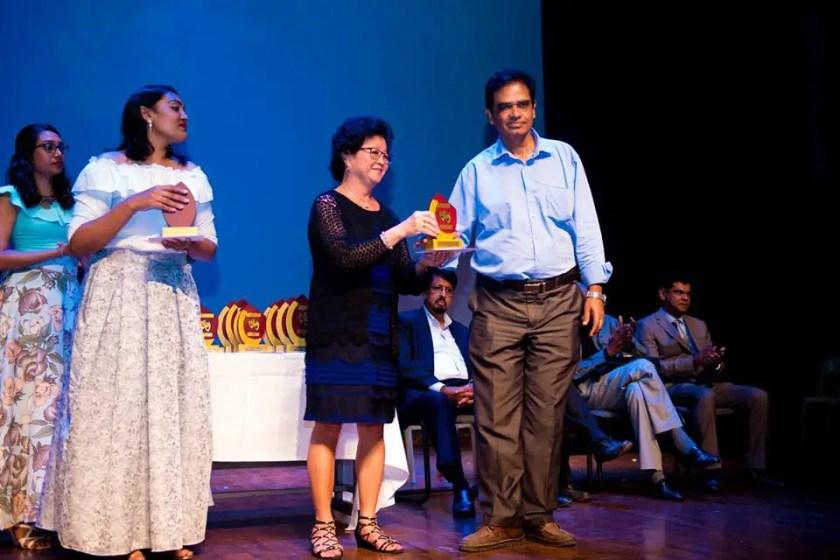 Best Director Award - English Drama Mauritius