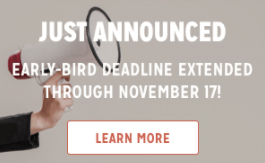 IBS Early Bird Registration Extended