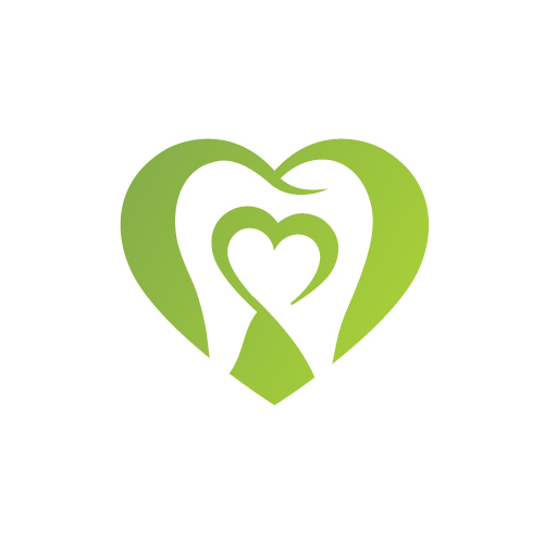 Asheville Holistic Dentist -Heart Tooth Icon