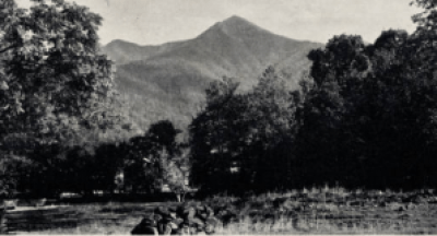 Mt. Pisgah. NC Postcards, UNC Chapel Hill.