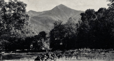 Mt. Pisgah. NC Postcards, UNC Chapel Hill.