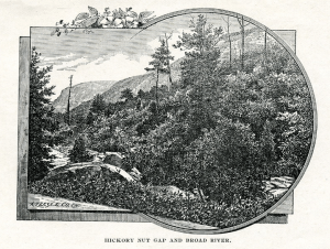 Lindsey's Guide Book to Western North Carolina (ca. 1890). D. H. Ramsey Library, UNC Asheville.