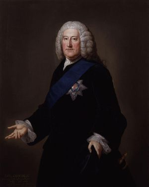 Portrait of John Carteret, 2nd Earl Granville by William Hoare, ca. 1750-1752. Wikimedia Commons via NCpedia.