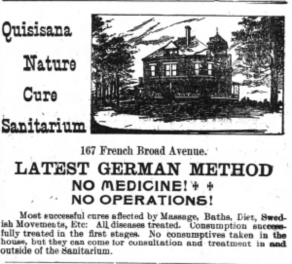 Asheville Daily Citizen, October 3, 1900. Newspapers.com