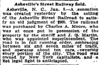 Washington Post, January 7, 1895, p. 7. Proquest.com