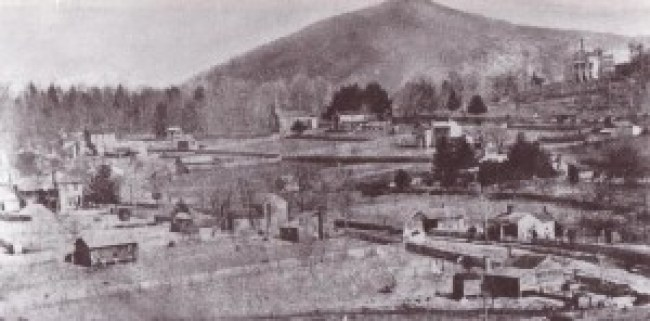 Lenoir NC, 1874. Caldwell Heritage Museum.