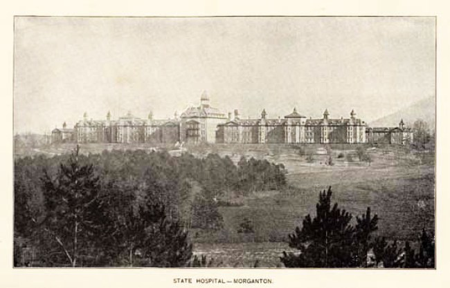 State Hospital photo, ca. 1896