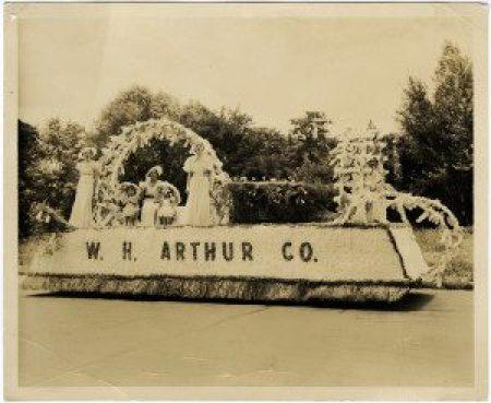 Rhododendron Festival parade, 1937