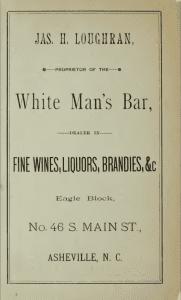 Asheville City Directory, 1887, p. 40.