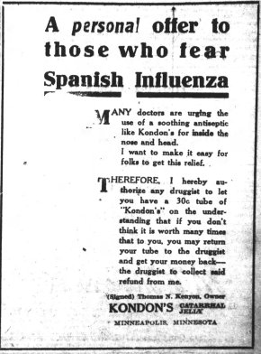Asheville Citizen-Times, October 18, 1918