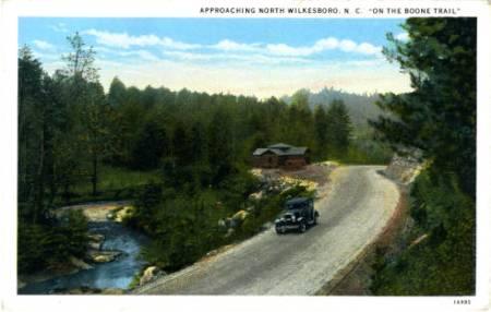 North Carolina Postcards Collection, UNC Chapel Hill.